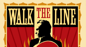 "Trailer for Clare's new movie ""Walk the Line"""