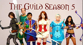 Clare cameos on the season 5 finale of The Guild!