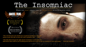 "The OFFICIAL Trailer for Clare's new movie ""THE INSOMNIAC"""