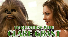 10 Questions with Clare Grant for Saber 2!