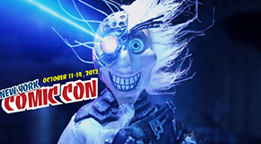 Clare at the New York Comic Con