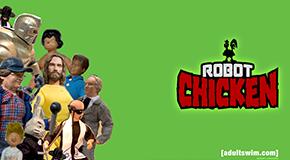 """Clare on """"Robot Chicken"""""""