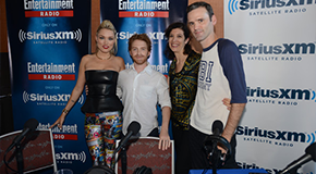Clare and Seth on Sirius XM's Entertainment Weekly Podcast
