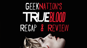 Clare guest co-hosts Geeknation's True Blood Podcast